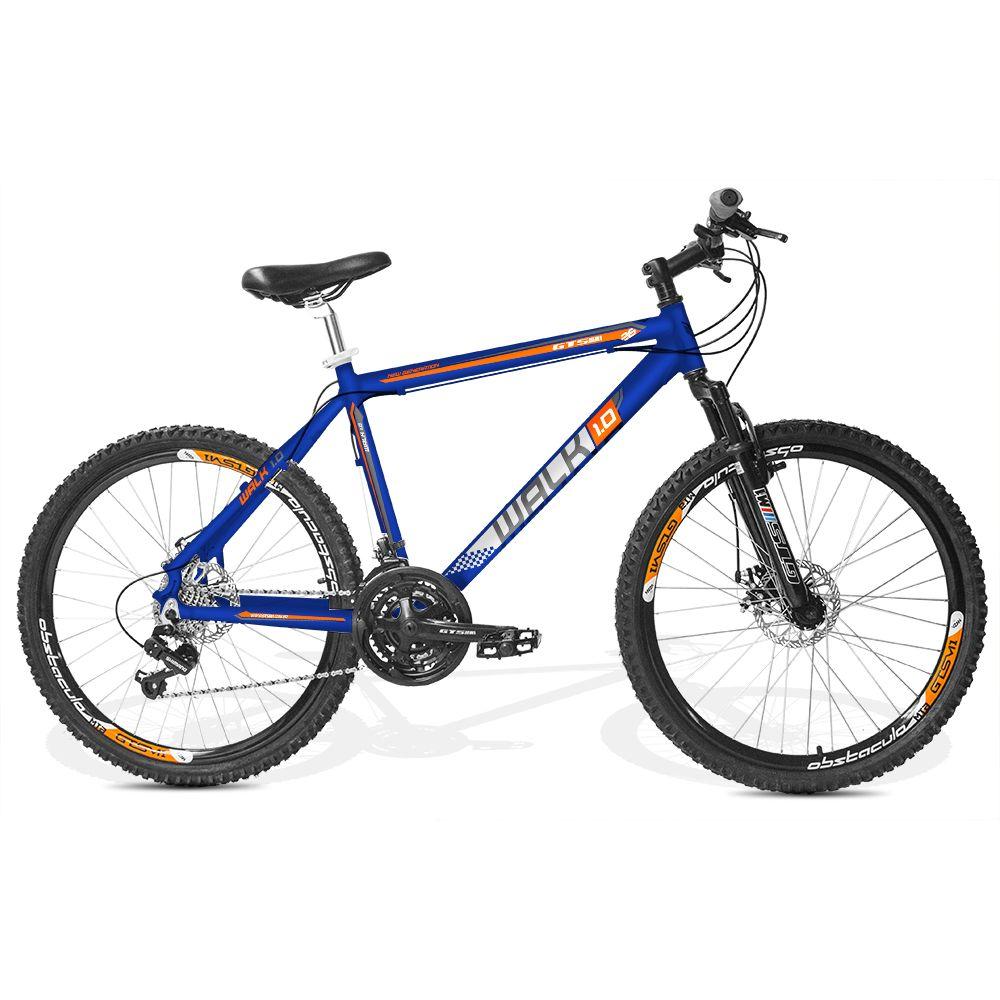 Bicicleta GTSM1 Walk 1.0 aro 26 freio a disco 21v marchas