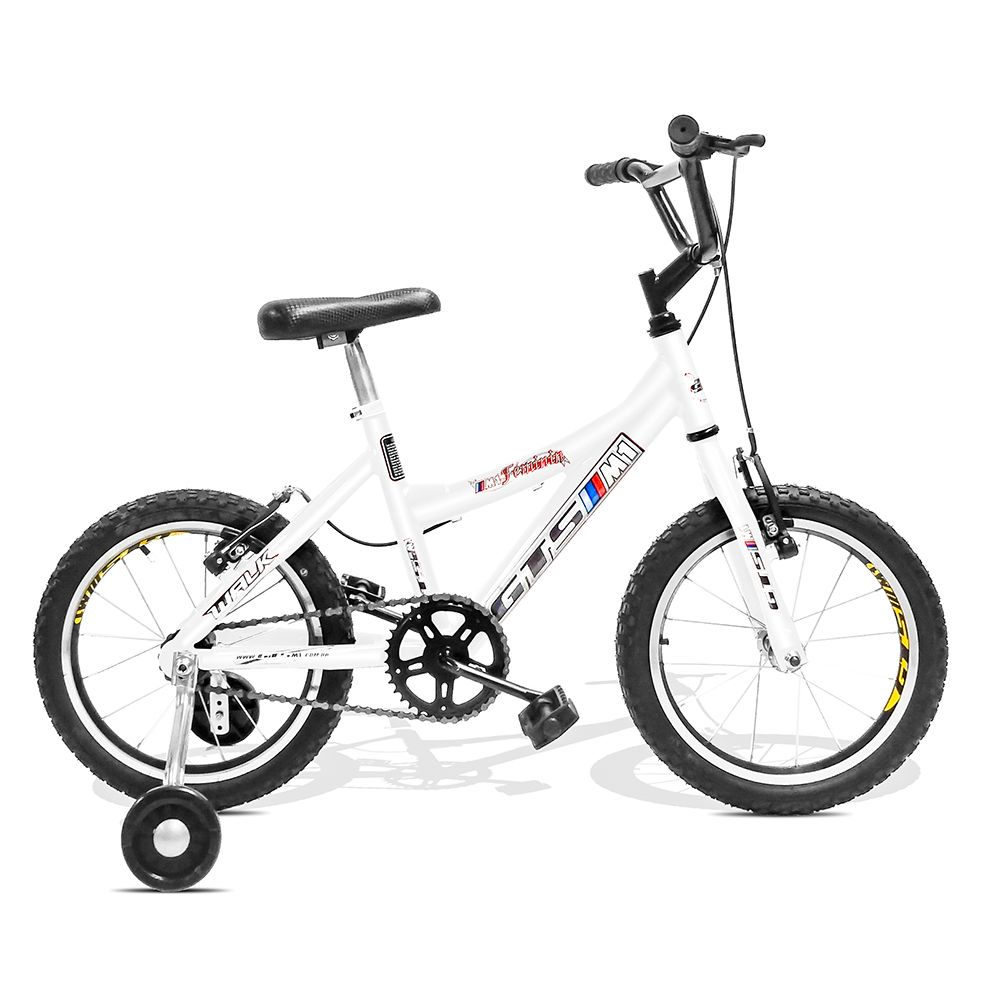 Bicicleta GTSM1 Walk Kids Feminina aro 16 alumínio