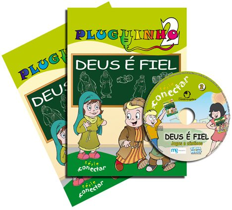 02 - DEUS É FIEL - Kit Completo  - Letra do Céu