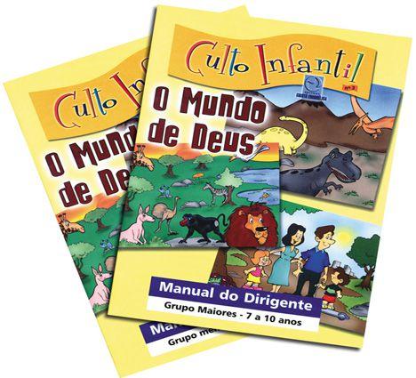03 - O MUNDO DE DEUS - Kit Completo