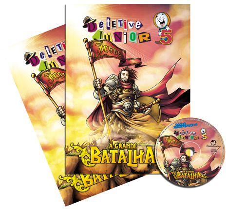 05 - A GRANDE BATALHA - Kit Completo  - Letra do Céu