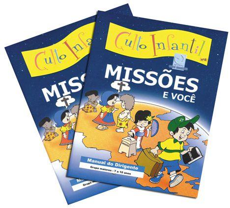 06 - MISSÕES E VOCÊ - Kit Completo