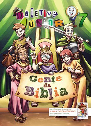 07 - GENTE DA BÍBLIA - Revista do Aluno  - Letra do Céu
