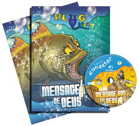 PLUG KIDS 07 - MENSAGEIROS DE DEUS - Kit Completo