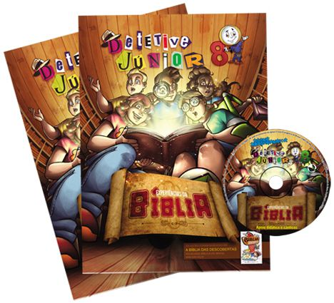 08 - EXPERIÊNCIAS DA BÍBLIA - Kit Completo