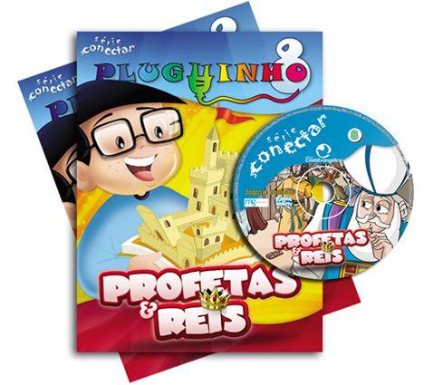 08 - PROFETAS E REIS - Kit Completo  - Letra do Céu