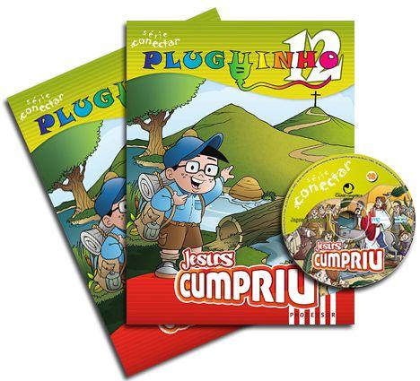 PLUGUINHO 12 - JESUS CUMPRIU - Kit Completo