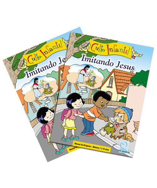 13 - IMITANDO JESUS - Kit Completo  - Letra do Céu