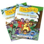 02 - CÂNTICOS DE LOUVOR - Kit Completo