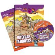 PLUG KIDS 04 - VITORIAS E DERROTAS - Kit Completo