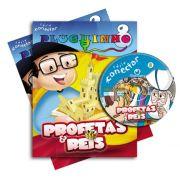 PLUGUINHO 08 - PROFETAS E REIS - Kit Completo