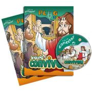 PLUG KIDS 11 - JESUS CONVIVEU! - Kit Completo