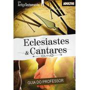 Eclesiastes e Cantares - Professor