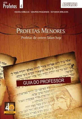 Profetas de ontem falam hoje - Professor