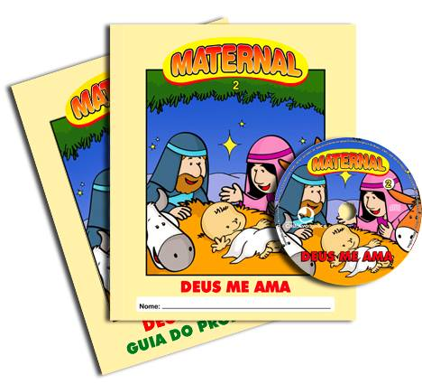 Deus me ama - Kit Completo  - Letra do Céu