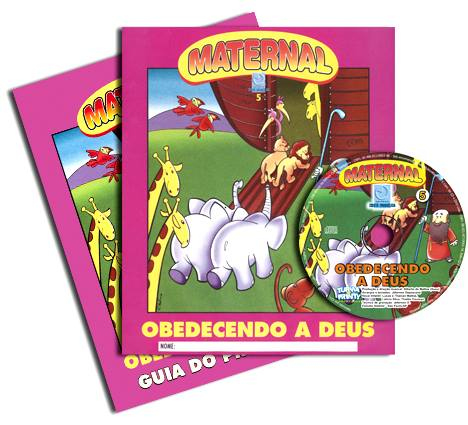 Obedecendo a Deus - Kit Completo  - Letra do Céu
