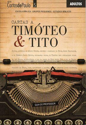 Cartas a Timóteo e Tito - Professor