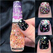 Esmalte Mohda Glitter - Pó de Magia