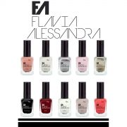 Kit 10 Esmaltes Flavia Alessandra 7FREE - Cl�ssicos