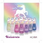 Coleção Unicórnio (7 cores + Base Recuperadora + Cobertura Vitrificada + 1 Toalhinha de brinde)