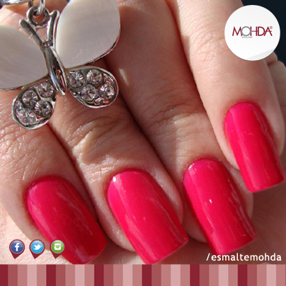 Esmalte Mohda Cremoso - Rosa Pedras  - E-Mohda