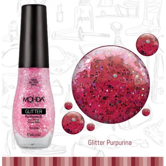 Esmalte Mohda Glitter Plus - Purpurina  - E-Mohda
