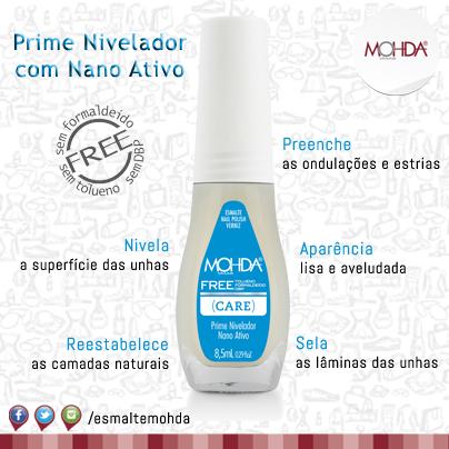 Esmalte Mohda Care -  Base Prime Niveladora  - Maria Pomposa