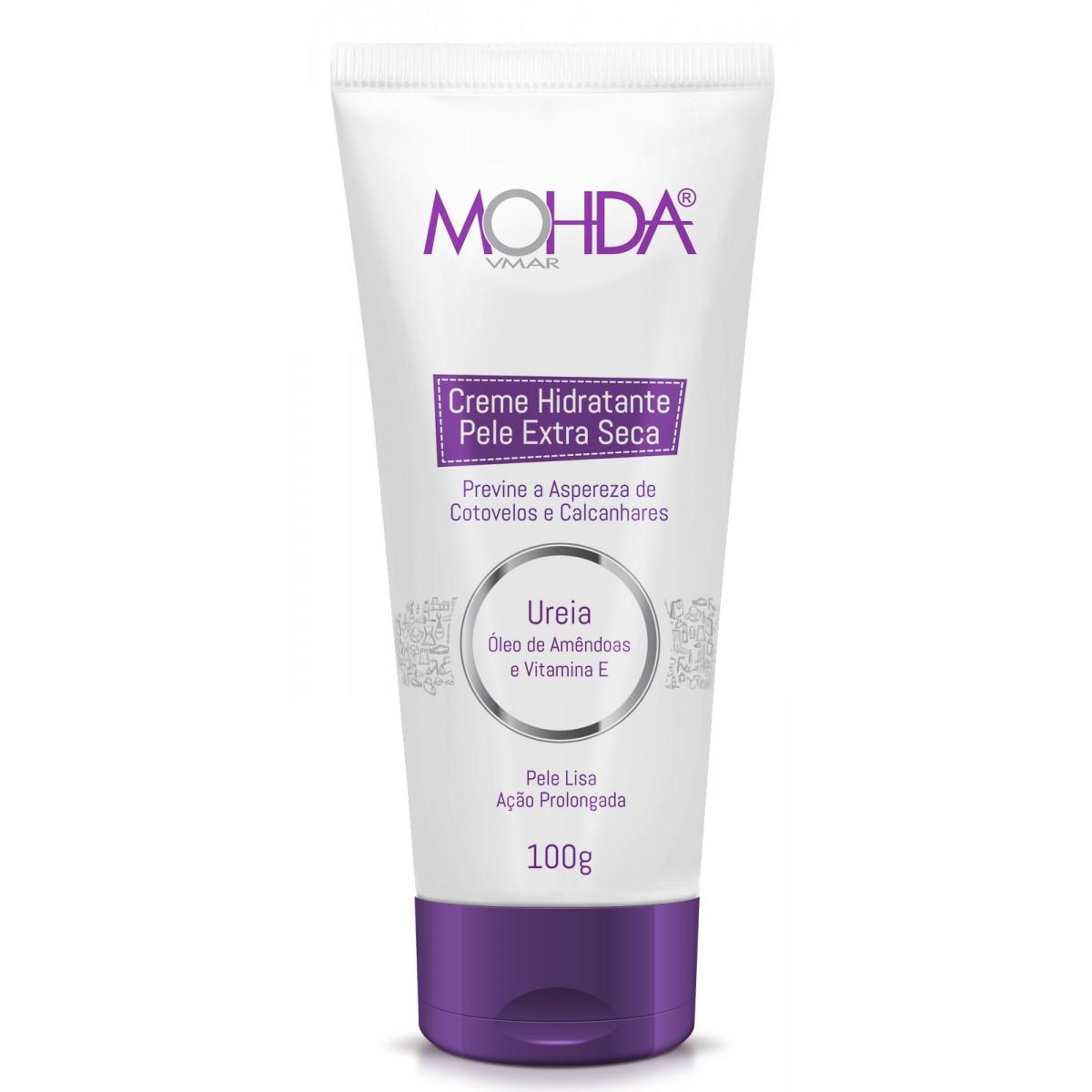 Creme Hidratante Mohda para Pele Extra Seca (100 g)  - E-Mohda