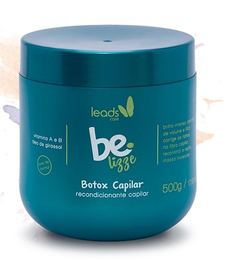 Botox Capilar BE LIZZE (sem formol) 500g  - Maria Pomposa