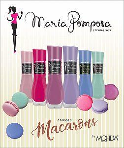 Coleção Macarons + MEGA HOLO (Maria Pomposa - 5FREE)   - E-Mohda