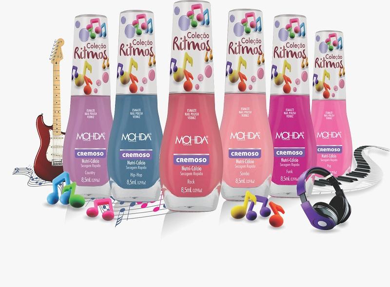 Coleção Ritmos - Primavera/Verão 2017 (6 cores)  - E-Mohda