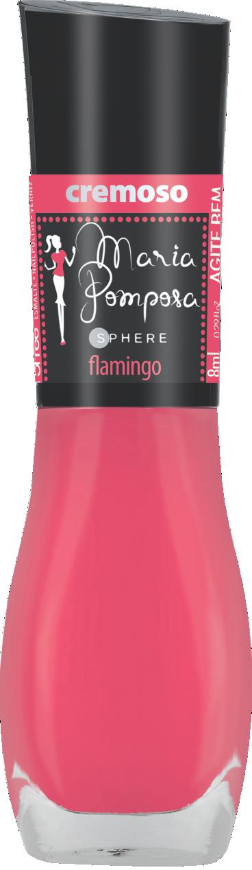 Esmalte Maria Pomposa - Flamingo  - E-Mohda