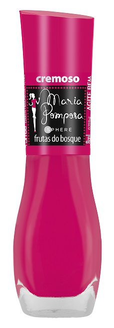 Esmalte Maria Pomposa - Frutas do Bosque  - E-Mohda