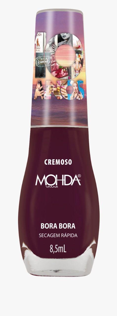 Esmalte Mohda Cremoso - Bora Bora (10 anos)  - E-Mohda