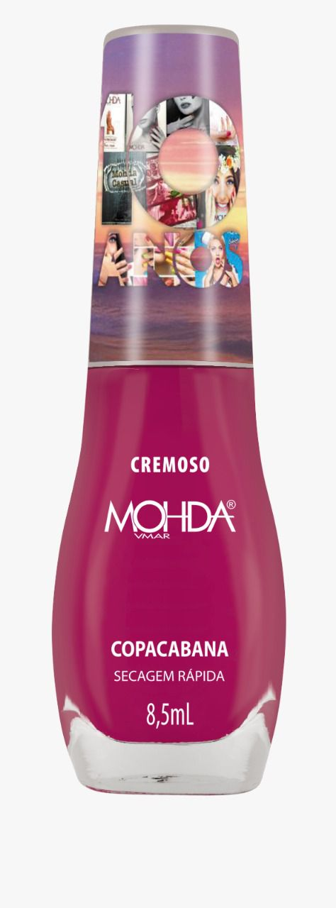 Esmalte Mohda Cremoso - Copacabana (10 anos)  - E-Mohda