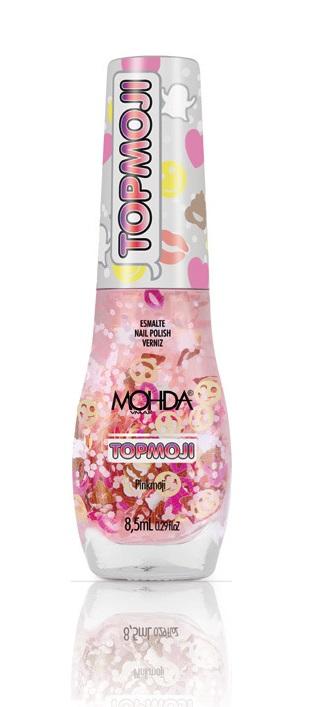 Esmalte Mohda TOPMOJI - PinkMoji  - Maria Pomposa