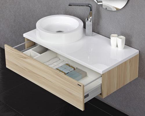 Cuba de Apoio para Lavatório 45cm Nice Branca Doka  Condec Premium -> Cuba Banheiro Tramontina