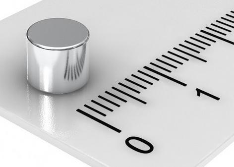 Imã de Neodímio Disco N35 6x5 mm