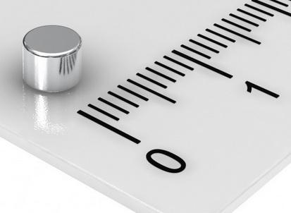Imã de Neodímio Disco N35 4x3 mm