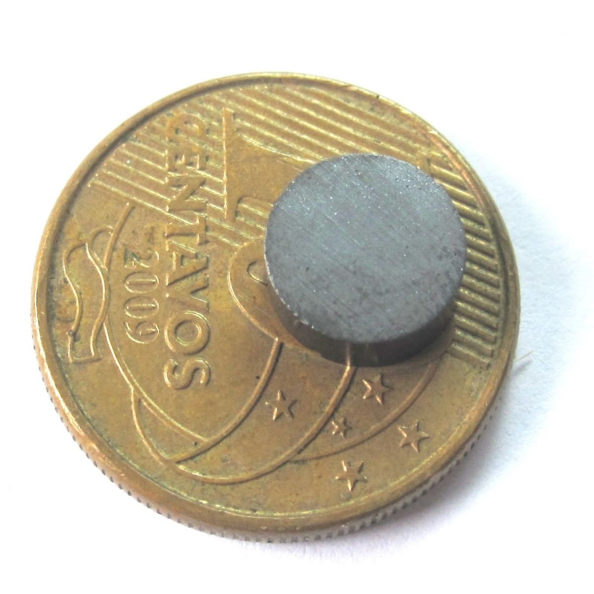 Imã de Ferrite Disco (cerâmica) Y30 8x3 mm