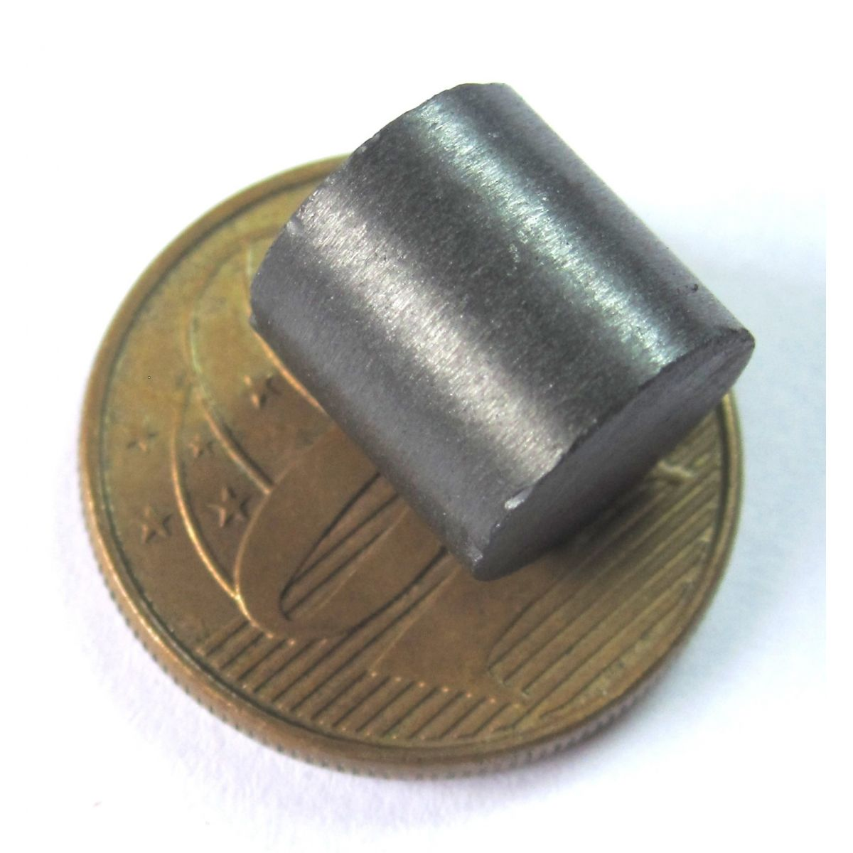 Imã de Ferrite Cilindro (cerâmica) Y30 10x10 mm
