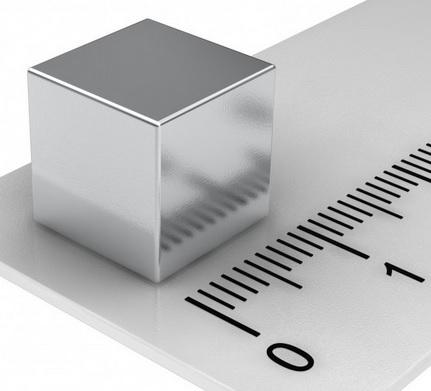Imã de Neodímio Cubo N35 10x10x10 mm