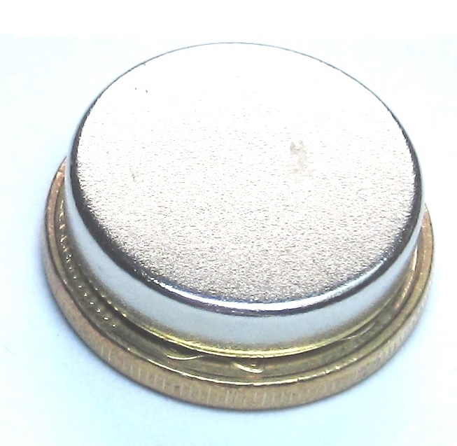 Imã de Neodímio Disco N35 18x4 mm