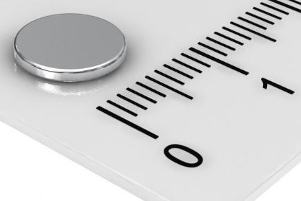 Imã de Neodímio Disco N35 8x1 mm