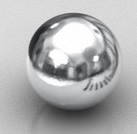 Imã de Neodímio Esfera N35 4 mm