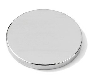 Imã de Neodímio Disco N35 20x3 mm