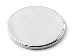 Imã de Neodímio Disco N35 15x1 mm