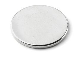 Imã de Neodímio Disco N35 12x1,5 mm