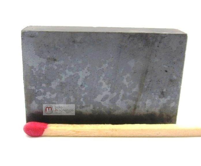 Imã de Ferrite Bloco (cerâmica) Y30 36x23,3x8 mm