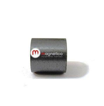 Imã de Ferrite Cilindro (cerâmica) Y30 10x10 mm  - Polo Magnético